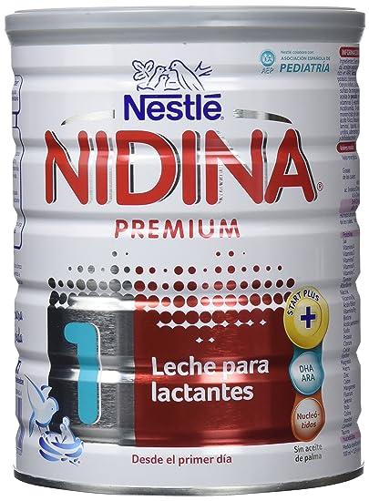 Nestlé Nidina 1 Premium Leche en polvo para lactantes - Paquete de 6 x 800 gr