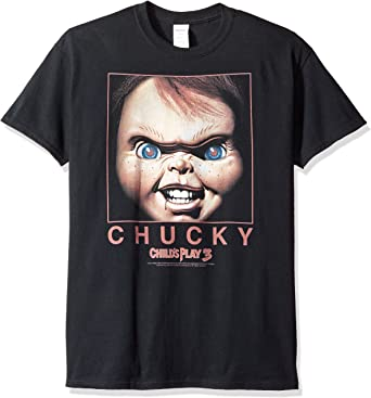 Child/'s Play Movie Chucky Squared Licensed Adult T Shirt