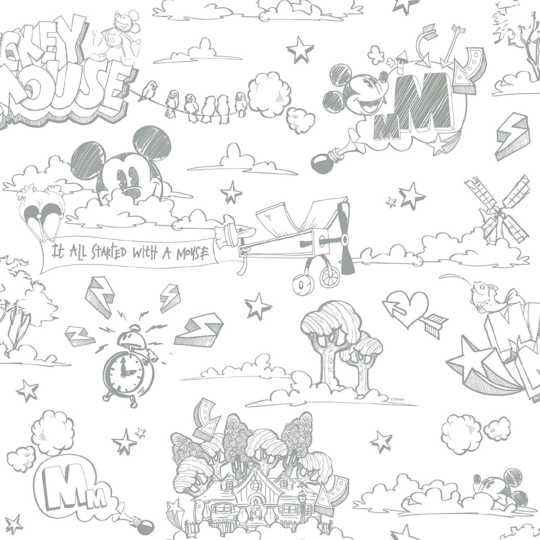 Amazon Galerie公式ディズニーミッキーマウスパターン鉛筆漫画子供