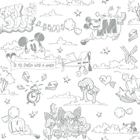 Galerie Official Disney Mickey Mouse Pattern Pencil Cartoon Beauteous Mickey Mouse Pattern