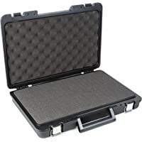 Universal Hand Tool Blow Molded Carrying Case - Kaizen Pluck & Pull Foam Insert - Protect Tools, Photography, and…