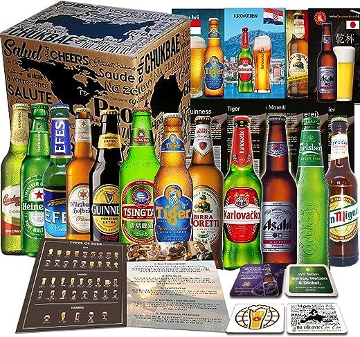 Geschenkkorb für Männer – Biere aus aller Welt