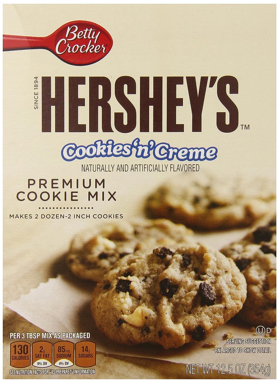 Amazon.com : Betty Crocker Hershey's Cookies And Cream Cookie Mix ...