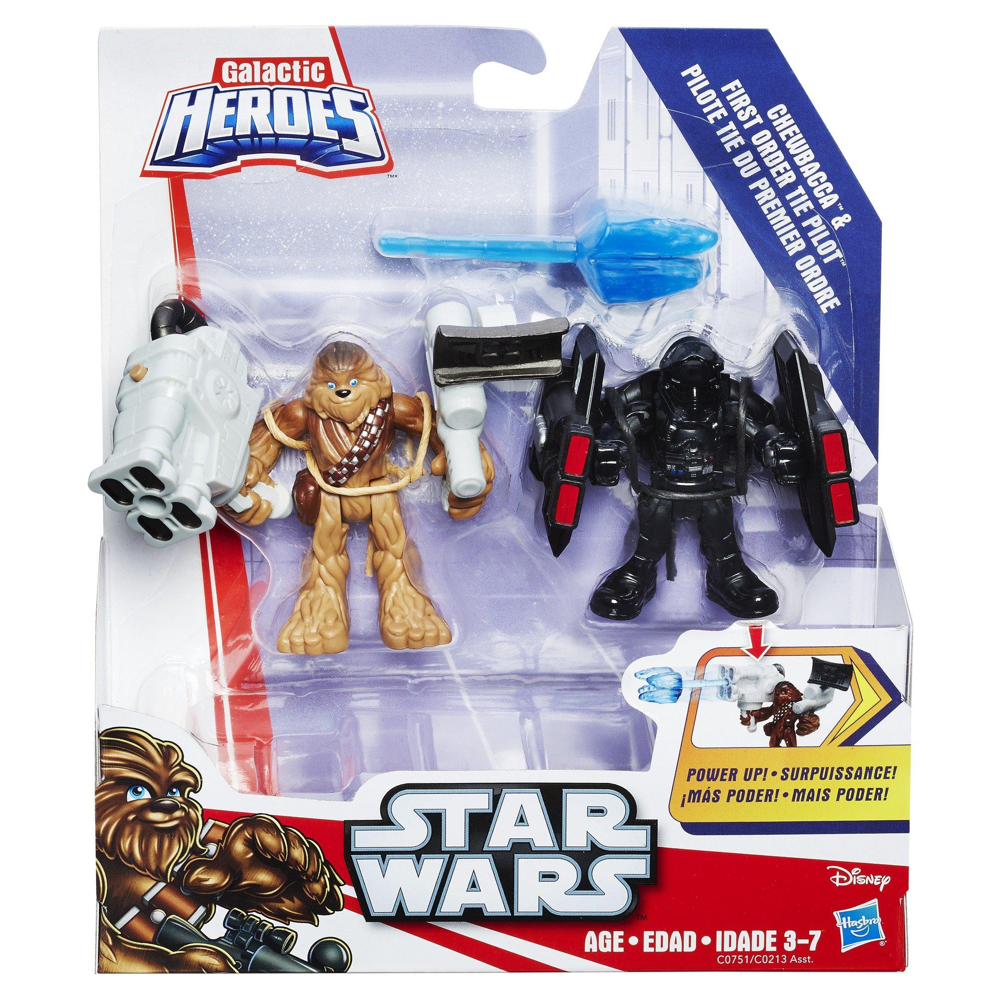 Playskool Heroes Galactic Heroes Star Wars First Order TIE Fighter Brand New