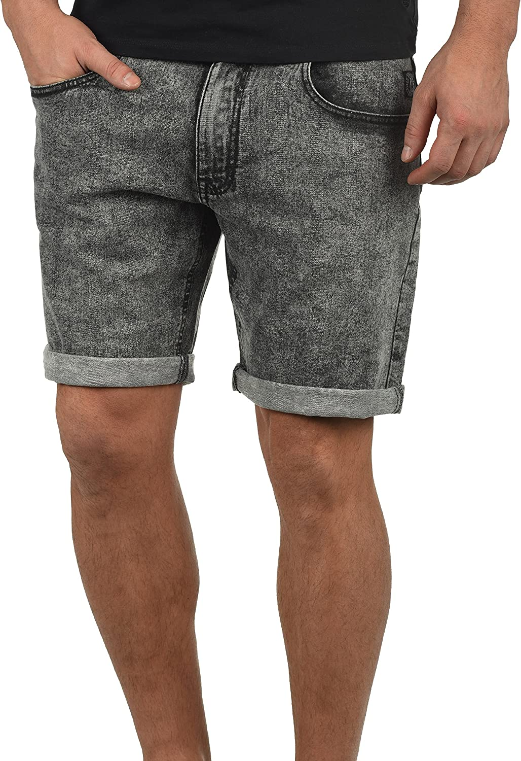 Redefined Rebel Marcos Herren Jeans Shorts Kurze Denim Hose aus Stretch-Material Regular Fit