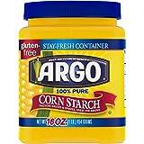 Argo 100% Pure Corn Starch, 16 Oz, Pack of 2 (Premium pack)