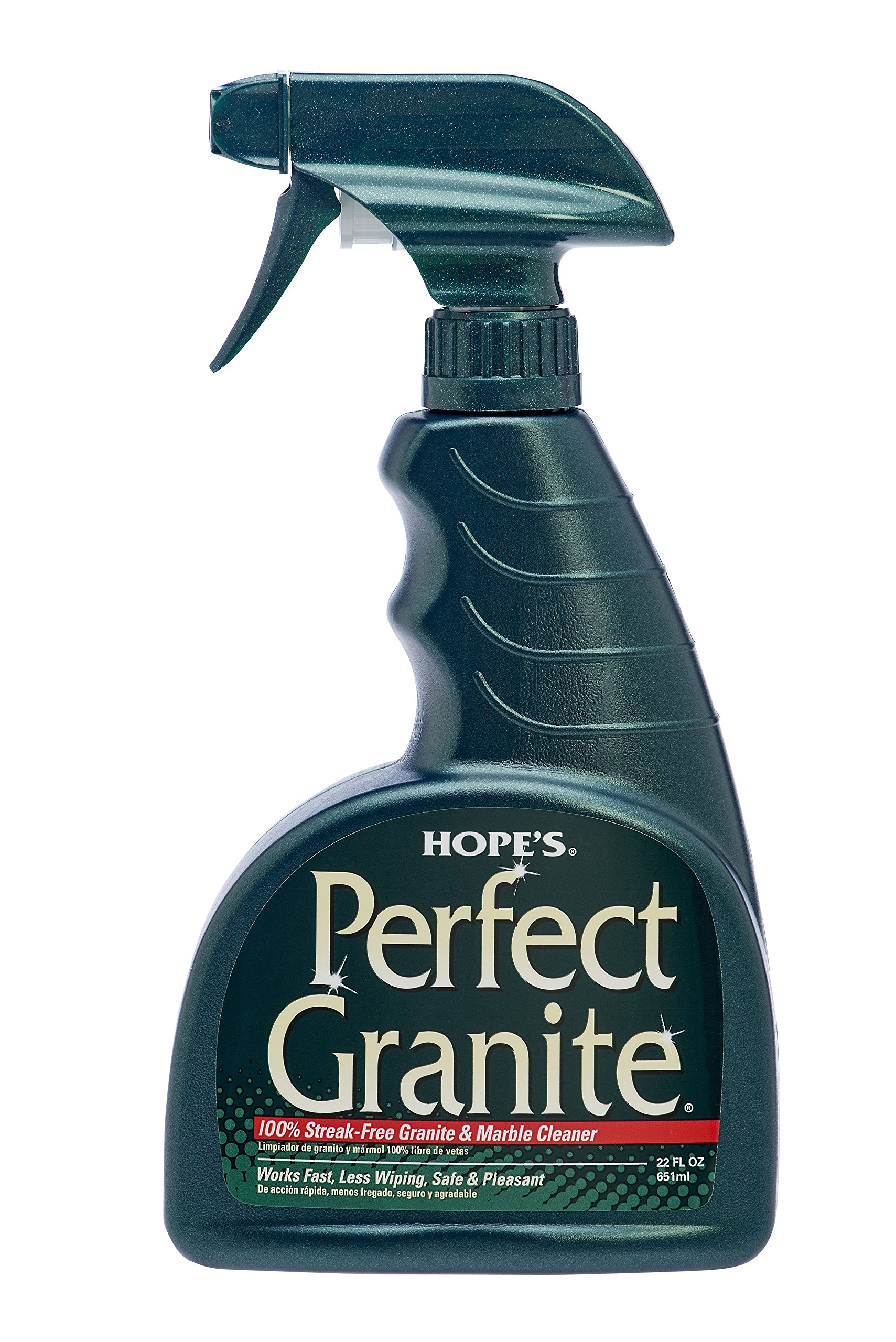 HOPE'S Perfect Granite Cleaner, 22-Ounce, Case of 6