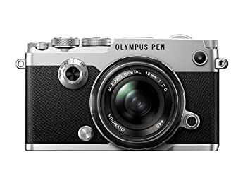 amazon co jp olympus ミラーレス一眼 pen f 12mm f2 0lk slv カメラ