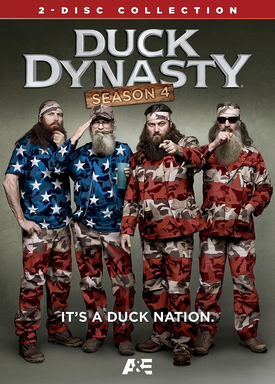 Duck Dynasty: Season 4 Phil Robertson Kay Robertson Jase Robertson Lionsgate Home Entertainment