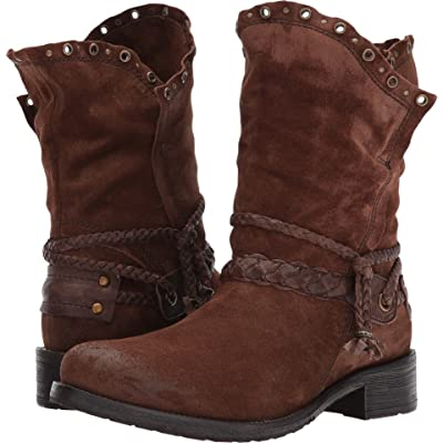 Trask Naomi Brown Suede 6.5 | Boots