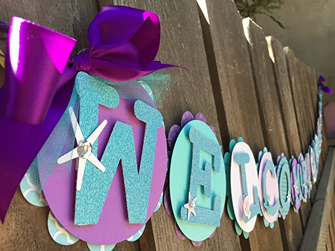 Amazon Under The Sea Theme Welcome Baby Girl Baby Shower
