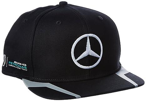 consistenza netta prevalente cerca l'originale Mercedes AMG Petronas Driver Hamilton Flatbrim Cap 2016 Grey ...