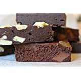 Luxury Chocolate brownie gift box of 12 pieces with award winning Chunky Chocolate, Chunky White Chocolate and Chocwork Orange brownies