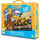 The Learning Journey Jumbo Floor Puzzles, Dirt Digger Floor Puzzle