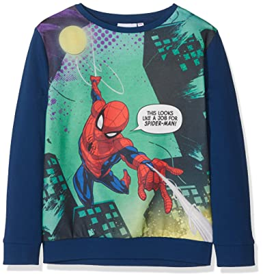 Spiderman Marvel This Looks Like a Job for Spider-Man, Sudadera para Niños,