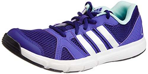 0e5b9808a8d4 Adidas Women s ESSENTIAL STAR II Purple and White Mesh Running Shoes ...