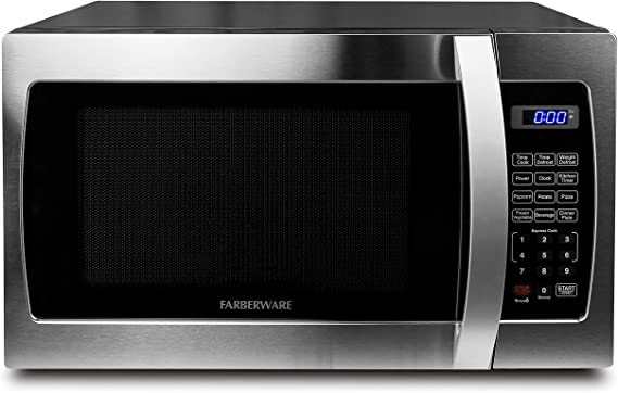 Farberware Professional - Horno microondas (1,3 pies cúbicos, 1000 ...