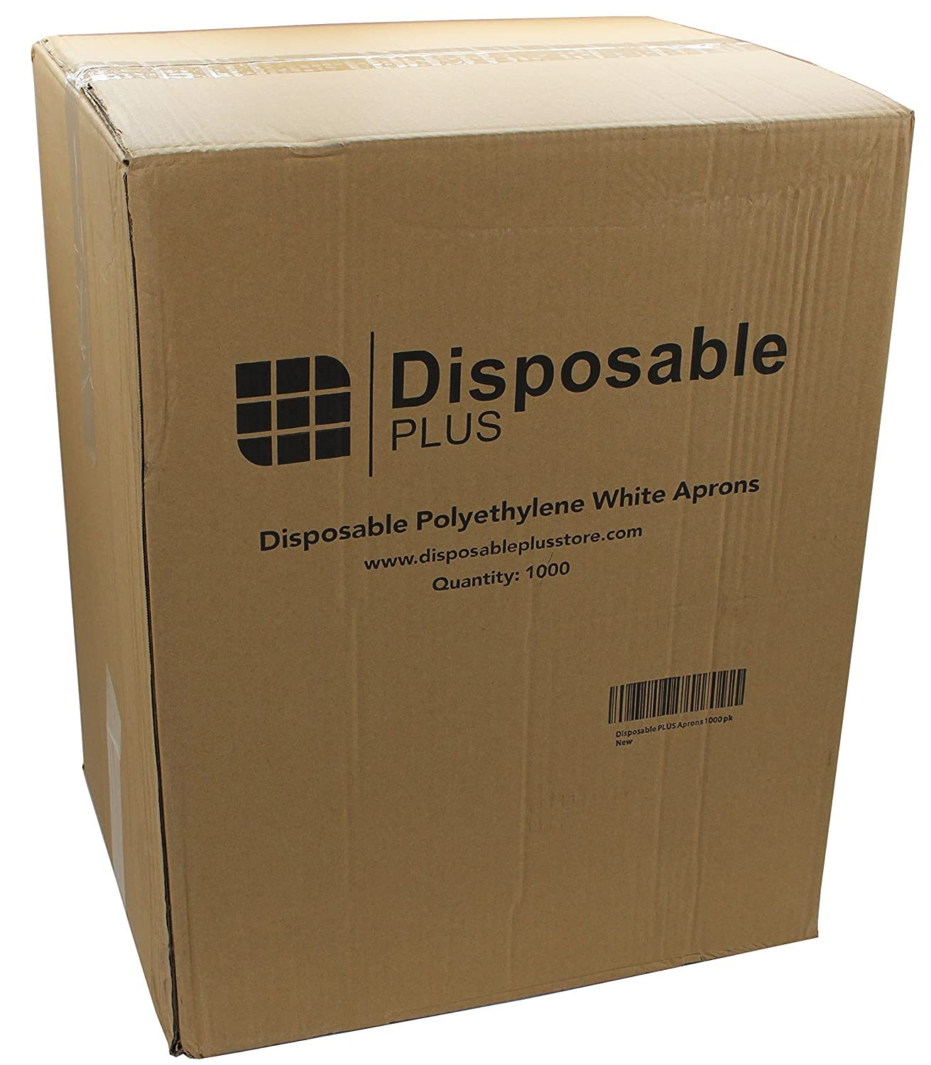 White disposable apron - Amazon Com Disposable Plus White Polyethylene Waterproof Aprons 28 X 46 Inches Stay Clean And Dry All Day While Cooking Serving Painting Or Dishwashing