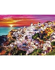 Buffalo Games 1429-Signature Collection-Dreamy Santorini-1000 Piece Jigsaw Puzzle