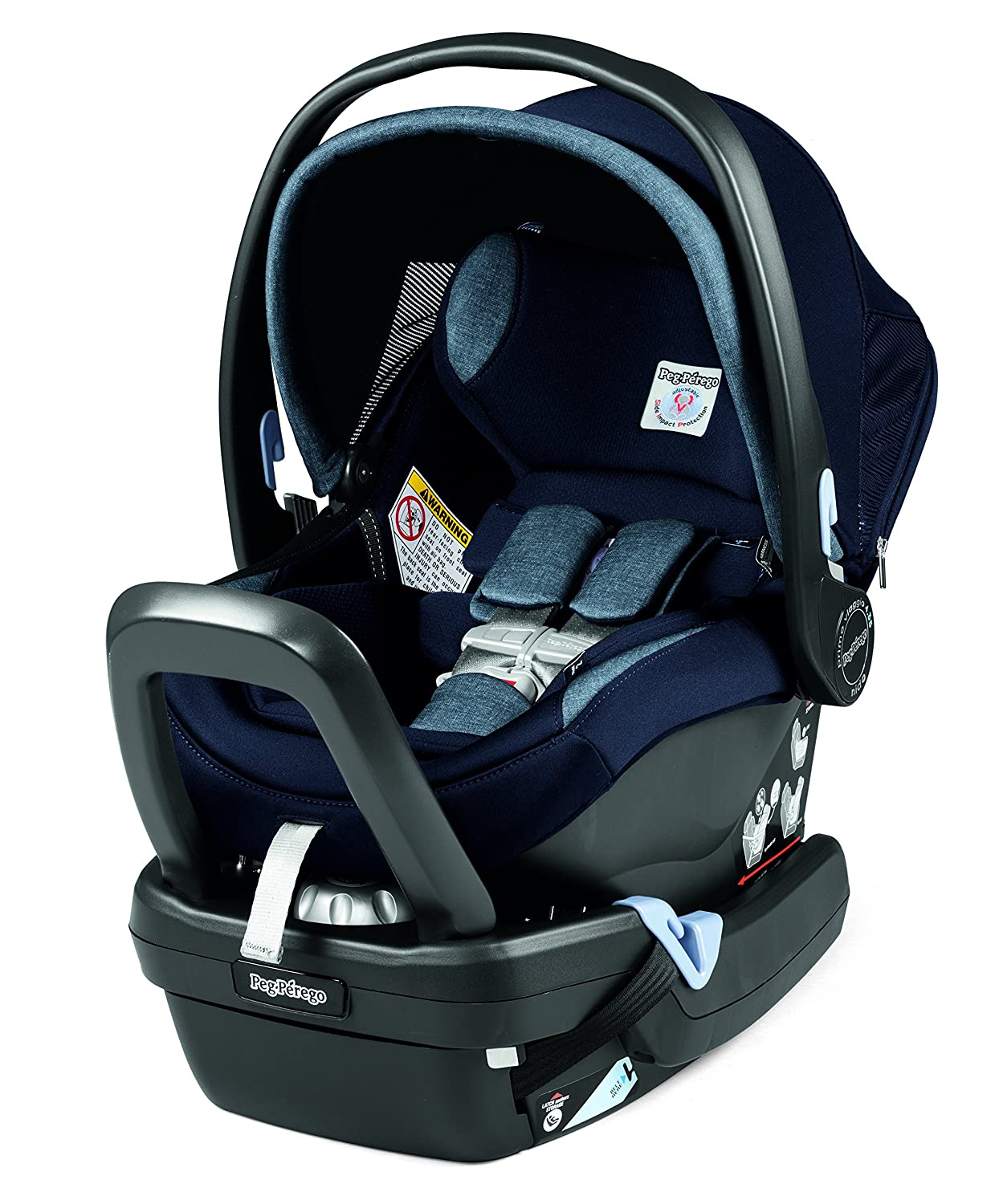 Peg Perego Primo Viaggio Nido Car Seat with Load Leg Base, Atmosphere IMPV04US35DX53TS53