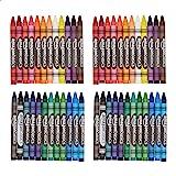 Amazon Basics Washable Crayons - 24 Assorted Colors, 2-Pack