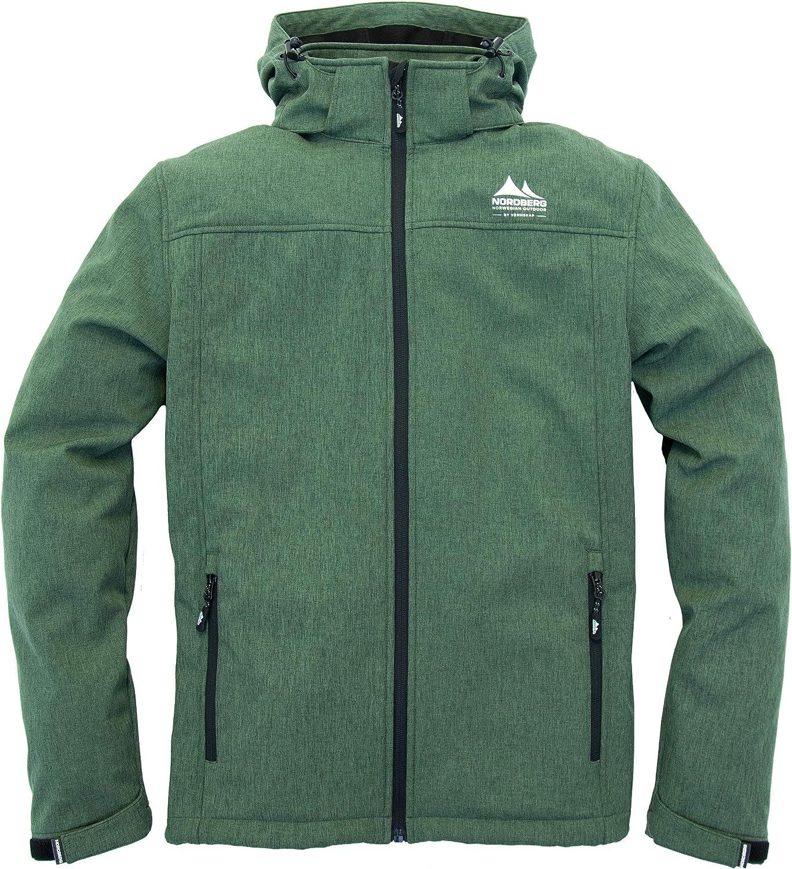 Nordberg Nordic Softshell Jacke Kjeld in grün mit