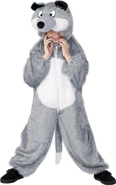 Smiffys - Disfraz de lobo para niño, talla M (7 - 9 años) (30788): Smiffys: Amazon.es: Juguetes y juegos