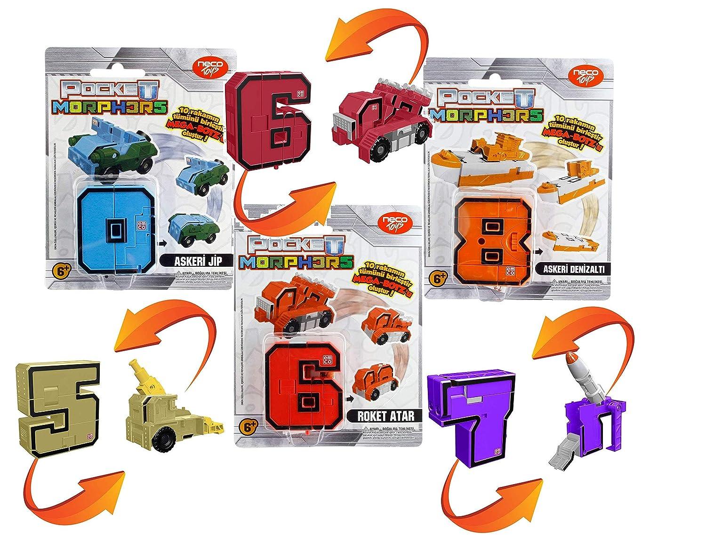 Giochi Preziosi–Figurine Morphos Transformers (6888) Assortiment: numeros/Couleurs aléatoires