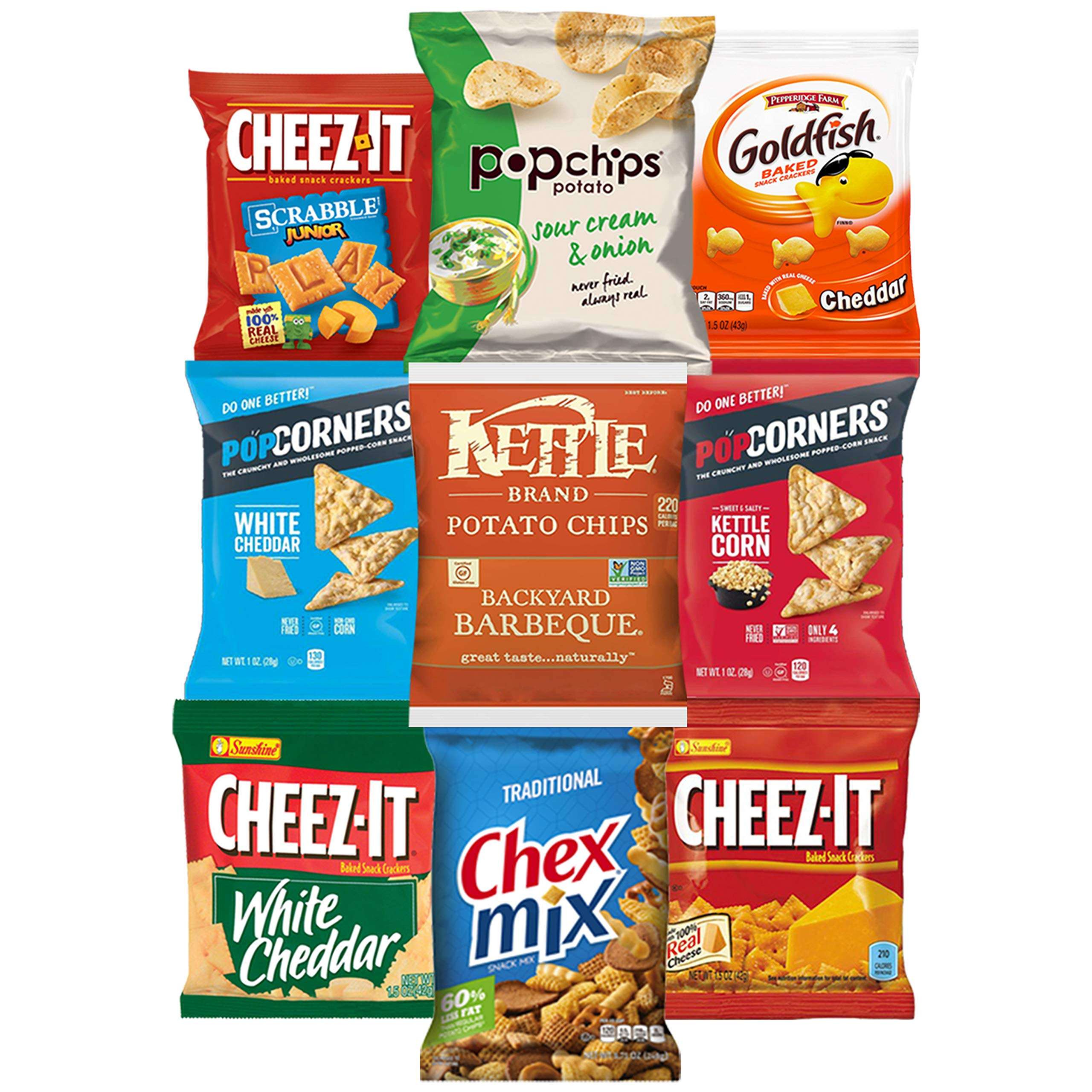 Cookies, Chips & Candies Ultimate Snacks Care Package Bulk Variety Pack Bundle Sampler (50 Count) by Snack Chest (Image #4)