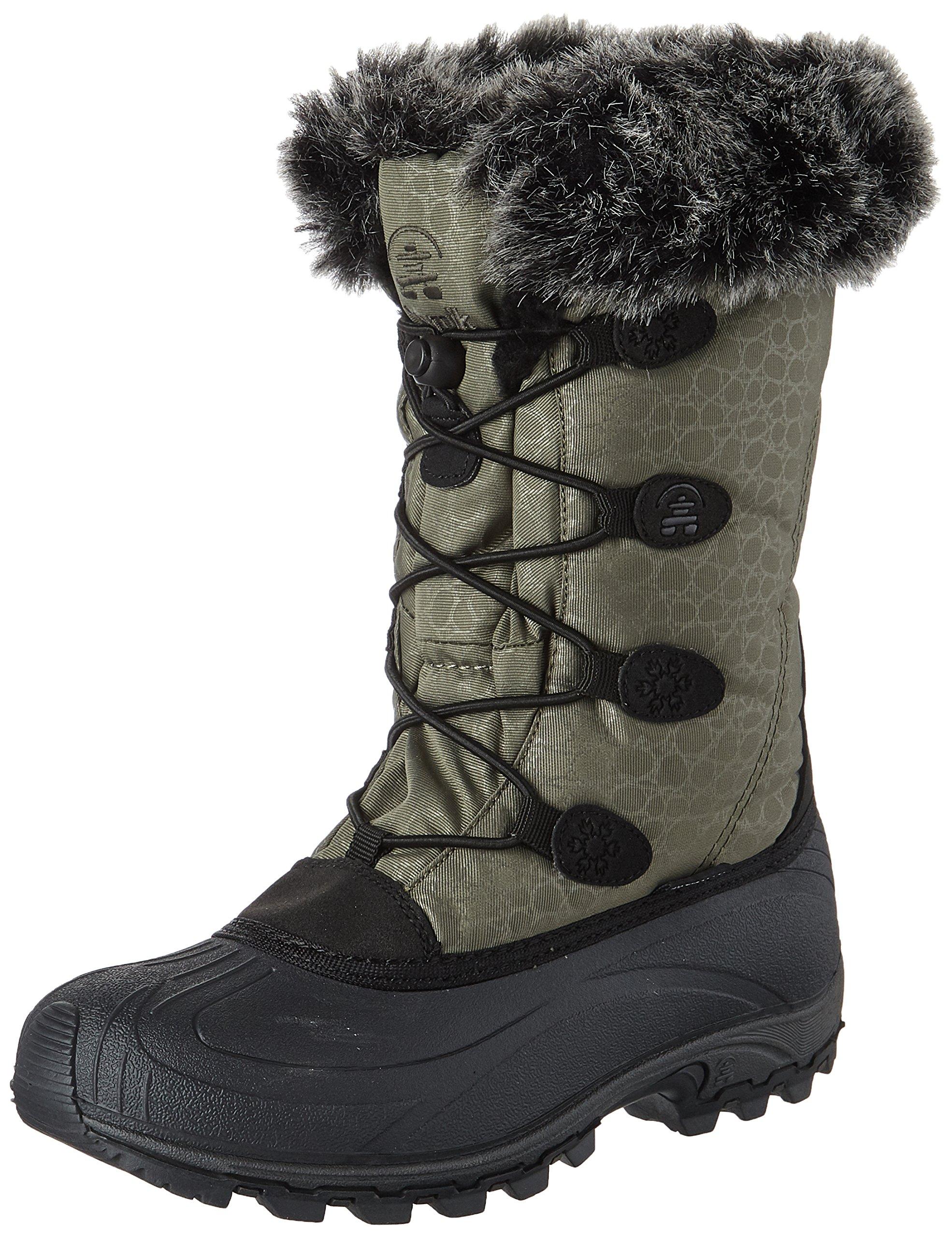 Kamik Women's Momentum Snow Boot, Khaki, 10 M US