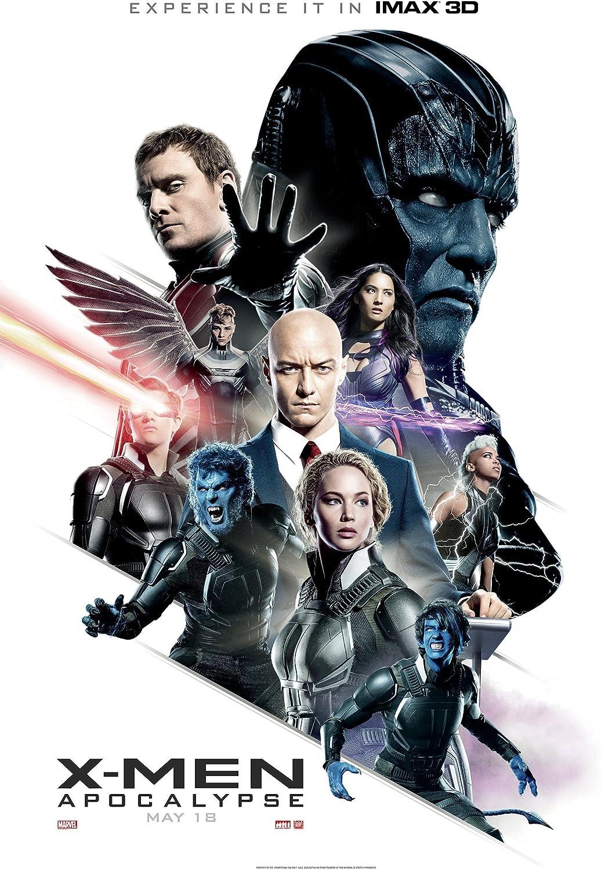 Amazon.com : X-Men Apocalypse Movie Poster Limited Print Photo ...