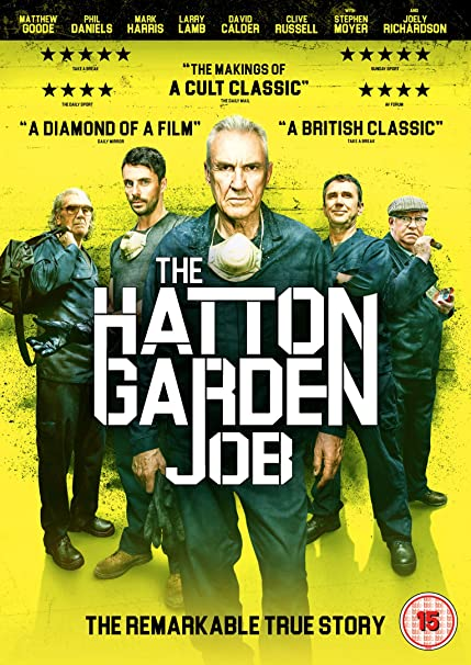 Loupež v Hatton Garden / The Hatton Garden Job (2017)
