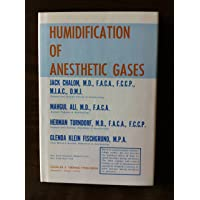 Humidification of anesthetic gases