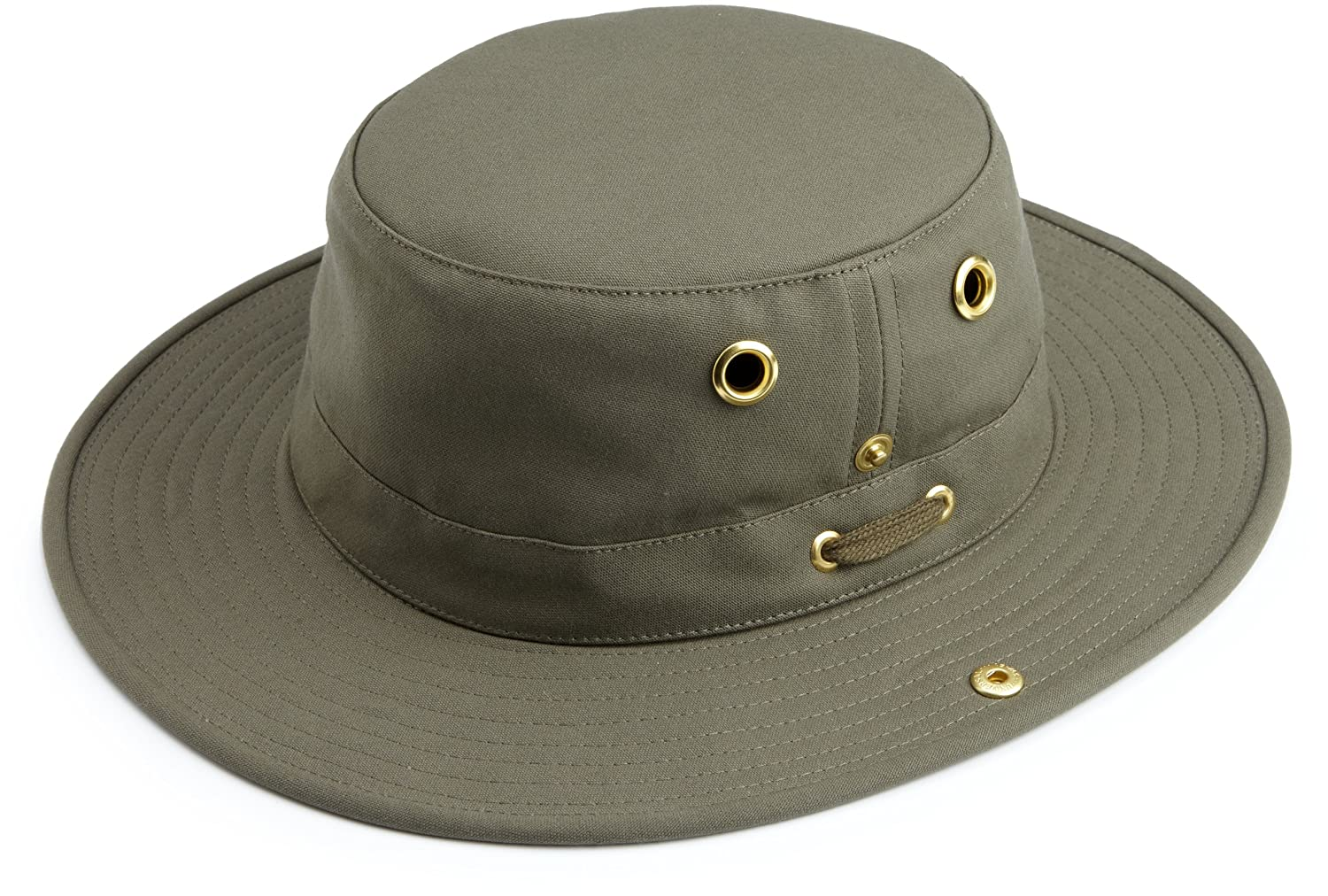 80ab8a70e81 Amazon.com  Tilley Endurables T3 Traditional Canvas Hat  Sports   Outdoors