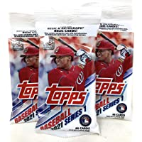 Topps 2021 Series 1 Baseball Fat Pack (3 Packs) photo