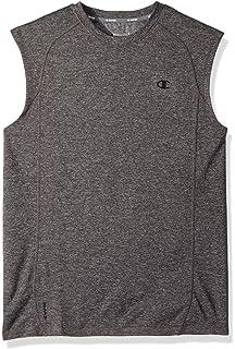 cf4c824a Champion Men's Double Dry Heather Muscle T-Shirt at Amazon Men's ...
