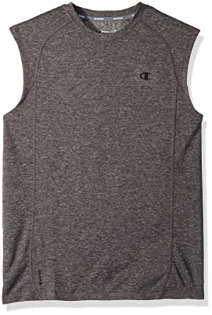 2d8ea31fe037b Champion Men s Double Dry Heather Muscle Tee at Amazon Men s ...