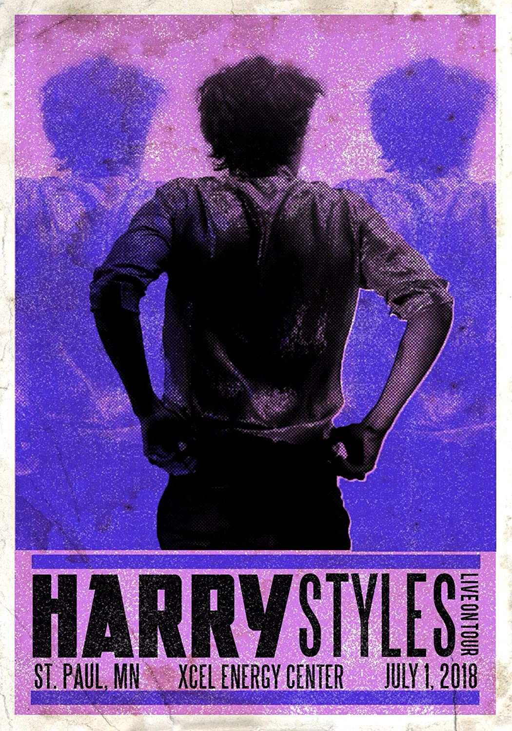 Harry Styles Poster Wall Art Gift Decor