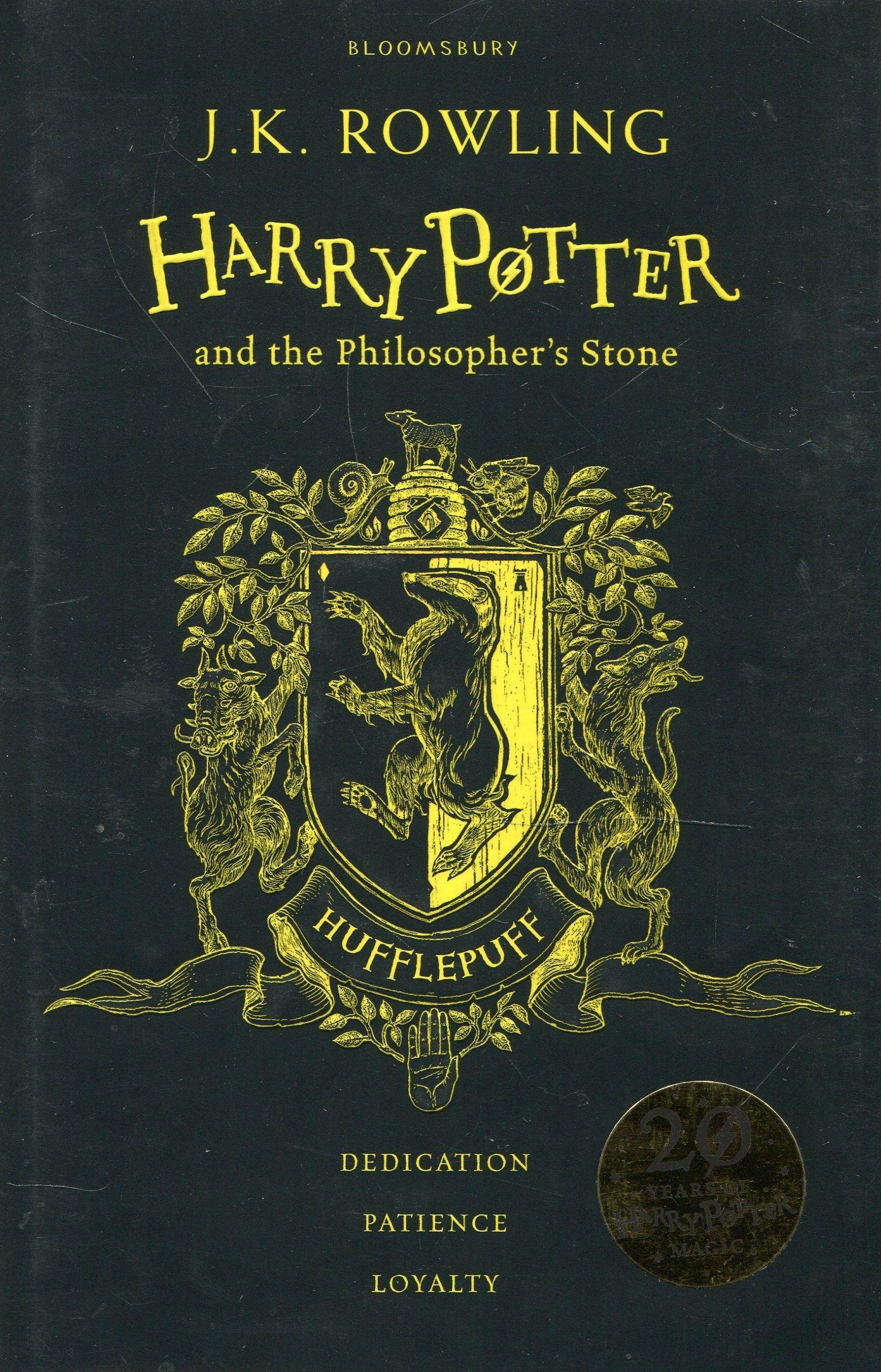 Harry Potter and the Philosopher's Stone – Hufflepuff Edition (Inglese) Cartonato – 1 giu 2017 J.K. Rowling 1408883805 FICTION / Fantasy / General 7-11 ans