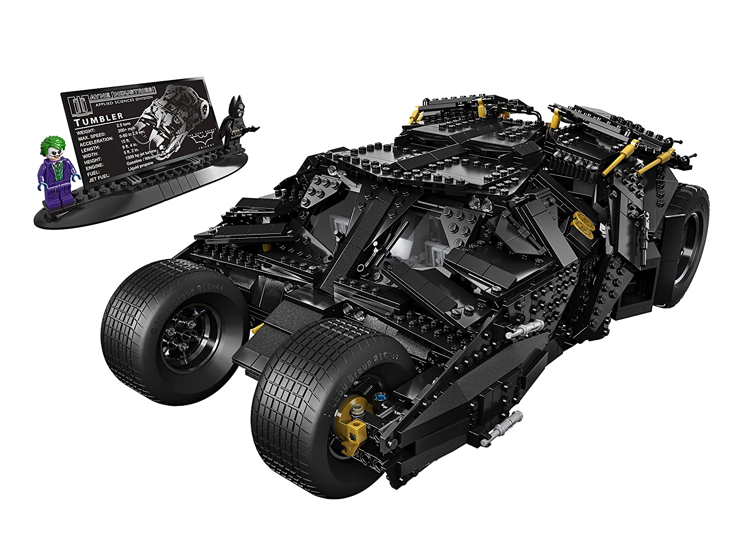 insane gifts batmobile lego