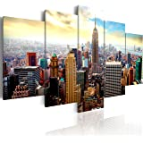 murando - Quadro 200x100 cm - 5 Parti - Quadro su tela fliselina - Stampa in qualita fotografica- New York Quadro 030211-62