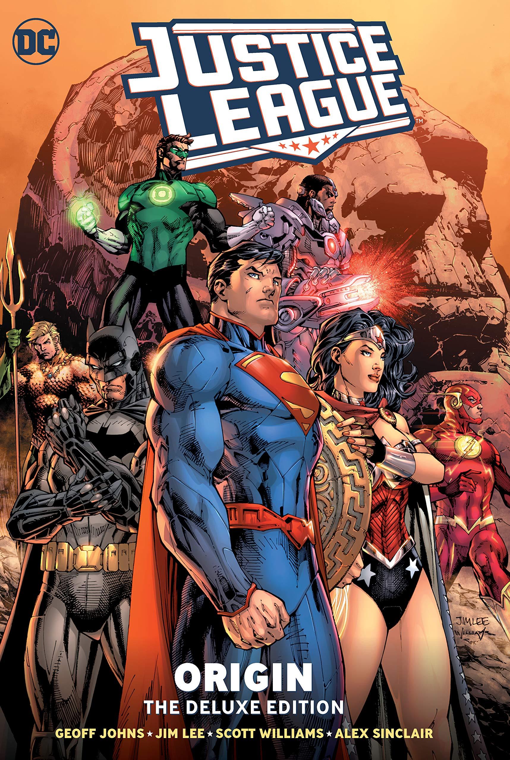 Amazon Com Justice League Origin Deluxe Edition 9781401299392