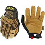 Mechanix Wear: M-Pact Leather Work Gloves (Medium, Brown/Black)