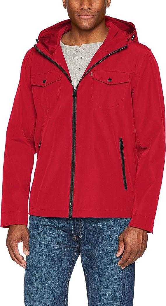 Levi's Arctic Cloth Performance Hooded Rain Jacket