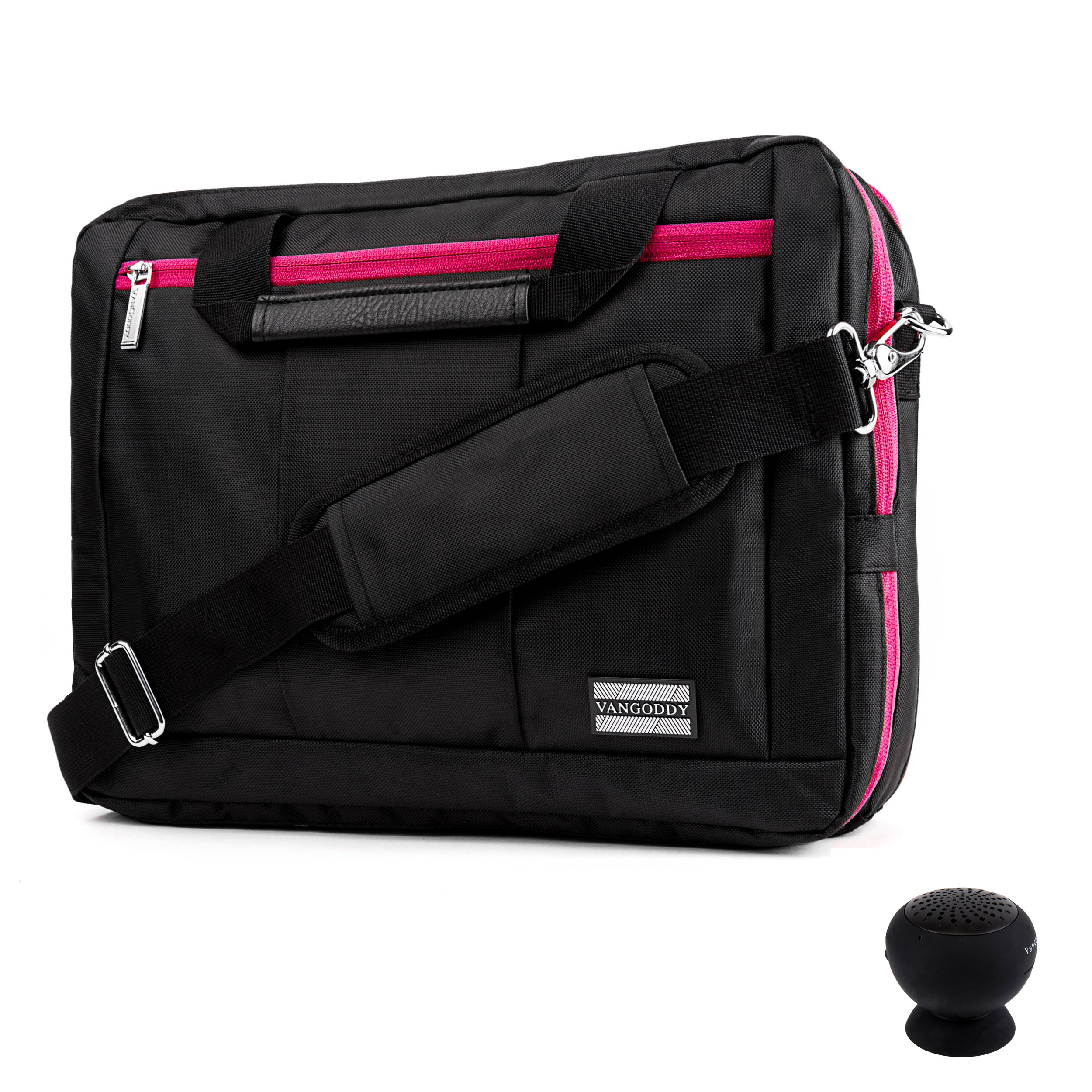VANGODDY Microsoft Surface Pro 3/4/2017 (Edition) Lightweight Messenger Bag Convertible To Backpack (with USB Speaker)