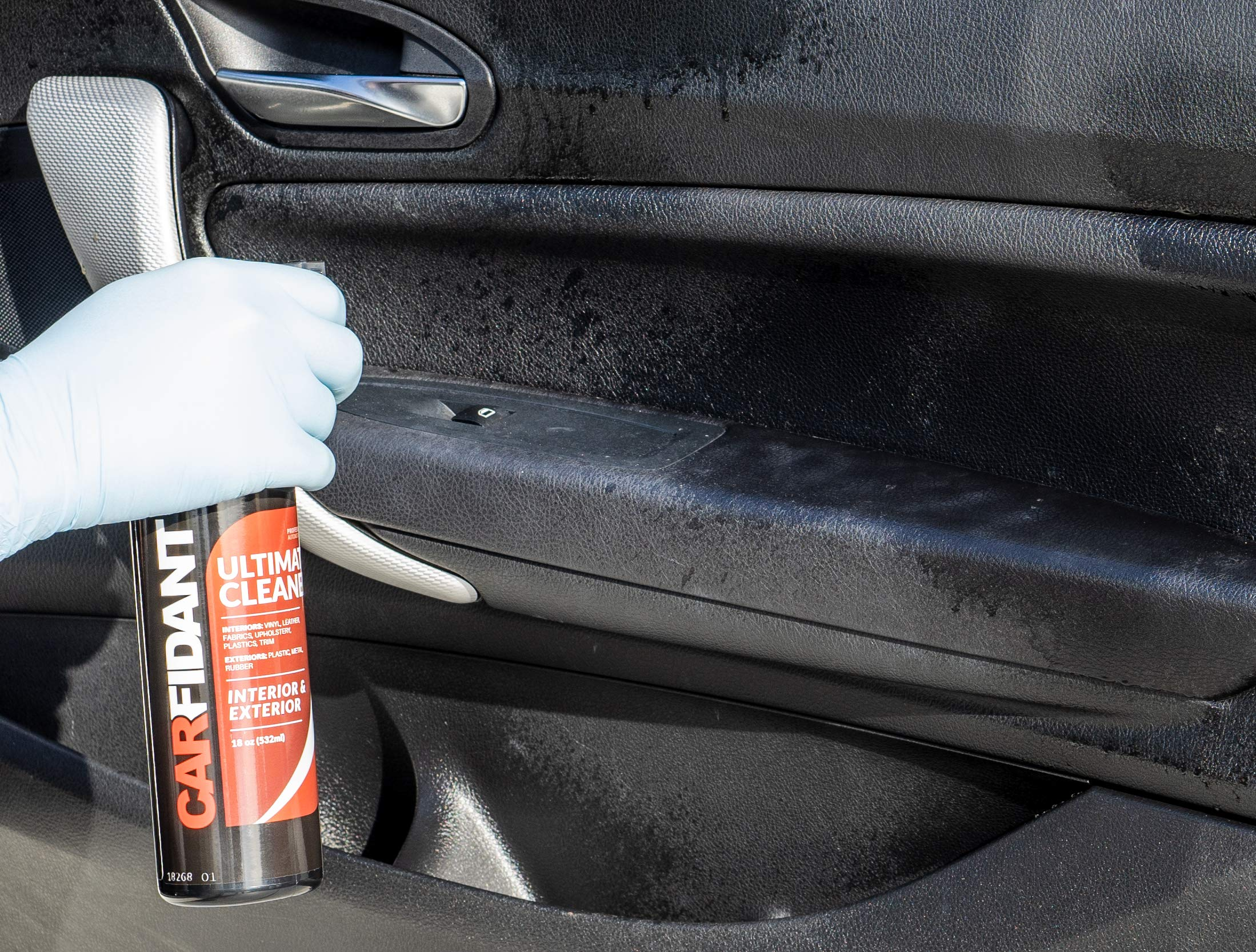 Carfidant Ultimate Car Interior Cleaner - Automotive Interior & Exterior Cleaner All Purpose Cleaner for Car Carpet Upholstery Leather Vinyl Cloth Plastic Seats Trim Engine Mats - Car Cleaning Kit by Carfidant (Image #3)