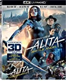 Alita Battle Angel (Bilingual) [4K UHD + 3D + Blu-ray + Digital Copy]
