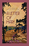 A Letter of Mary (A Mary Russell & Sherlock Holmes Mystery Book 3)