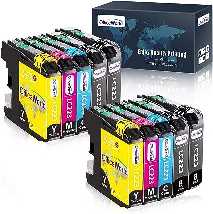 OfficeWorld LC 223 Cartuchos de Tinta para LC223 Compatible con ...