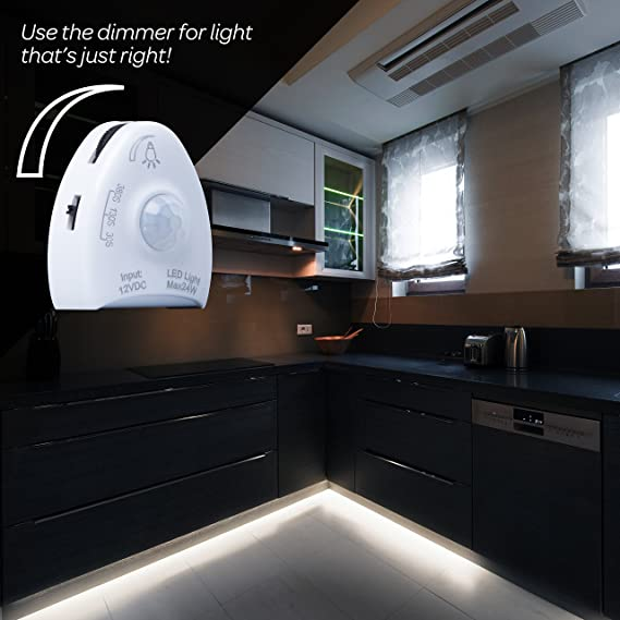 Amazon.com: Tira de Luz LED Con Sensor de Movimiento Livin Well -